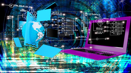 Creation high speed and high technological Internet communicatio