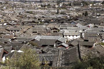 Cityscape of Lijiang, Yunnan, China