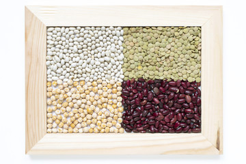 framed legume