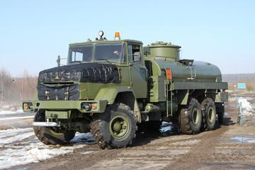 Army fuel truck