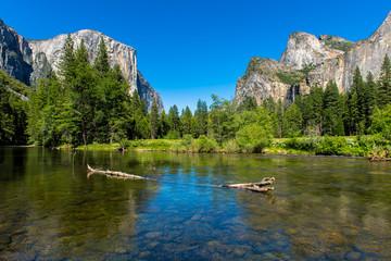Photo sur Aluminium Parc Naturel Valley View Yosemite