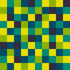Colorful mosaic pattern