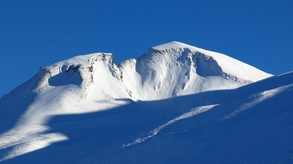 Chalberstoeckli, beautiful shaped mountain