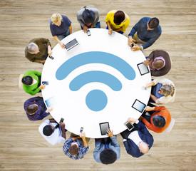 Wireless Internet Wifi Network Connection Communication