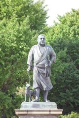 西郷隆盛の銅像 東京