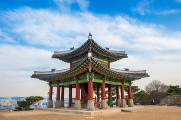 Hwaseong fortress in Suwon,Korea