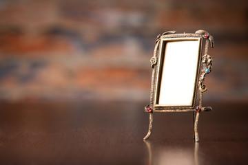 ornate frame isolated on white