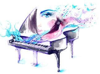 Obraz music - fototapety do salonu