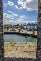 Bretagne_Concarneau-Blick von Festung auf die Stadt