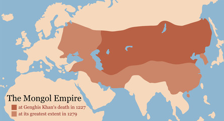Mongol Empire Conquest Map