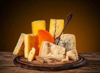 Various type of cheese