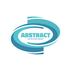 Abstract - vector logo concept illustration. Design element.