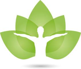 Mensch, Blätter, Gesundheit, Heilpraktiker