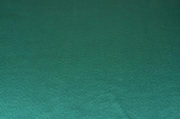 Zielona tkanina.