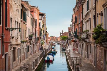 Venise canal quais Dorsoduro