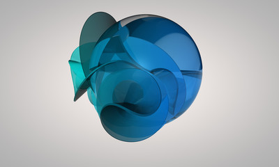 floating shape
