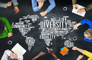 Fototapeta Diversity Ethnicity World Global Community Concept obraz