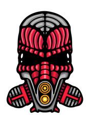 Robotic smoke helmet