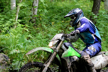 Enduro motorcycle race