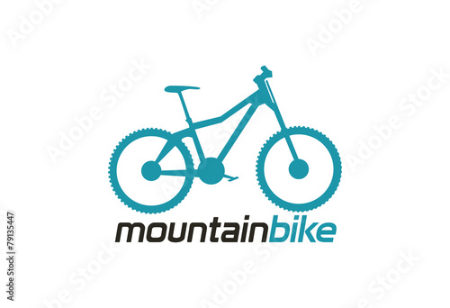 quotmountain bike logo vectorquot stock image and royaltyfree