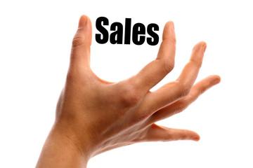 Smaller sales