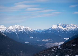 alps landscape mountain nature