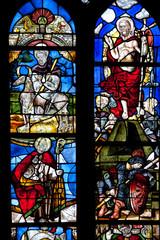 Vitraux de l'église Saint-Thurien, Plogonnec, Finistère