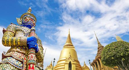 Foto auf Acrylglas Bangkok Wat Phra Kaeo,Bangkok,Thailand