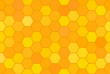 Abstract honeycomb seamless pattern