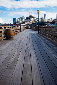 Boardwalk in San Francisco
