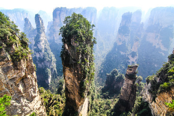 Hallelujah Mountain Peak in Wulingyuan, Zhangjiajie, China