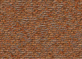 old hi-res red small brick wall pattern