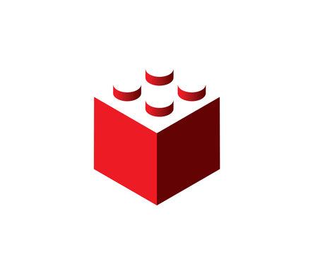 simple lego icon