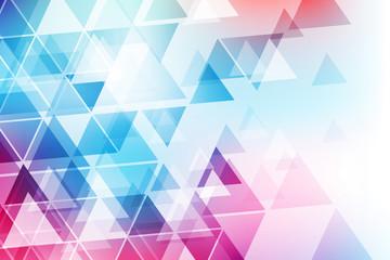 Fototapeta trójkąty tło wektor