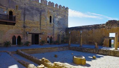 Alcazar Keep patio of Cisterns. Carmona - Seville Spain
