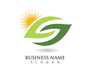 Eco Solar Logo Template 1