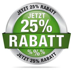 Jetzt 25% Rabatt