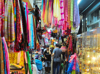 Colorful Chatuchak market, Thailand