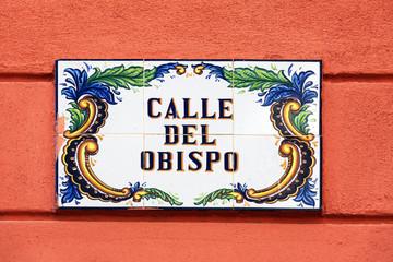Vintage Street Signs, Old City, Havana
