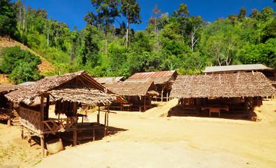 Karen village Ban Nai Soi, Mae Hong Son Province, Thailand