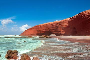 Legzira beach, Sidi Ifni, Souss-Massa-Draa, Morocco