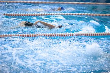 Sport swimming championship