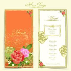 gorgeous restaurant menu design
