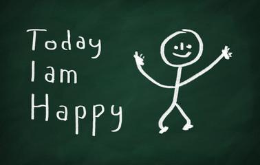 Today I am happy