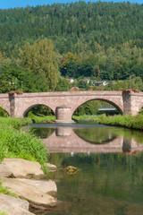 Wall Mural - Hirsauer Brücke Hirsau