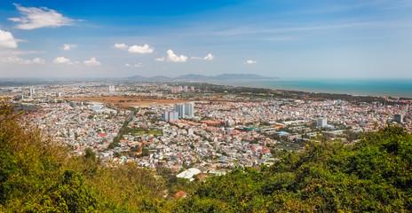 Panoramic view of Vung Tau, Southern Vietnam
