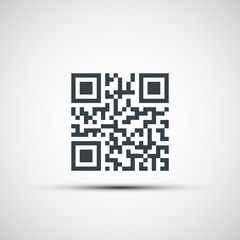 Vector icons qr code