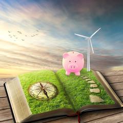 Wind Generators, Ecology savings piggy bank smart investment