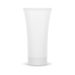 The plastic tube.