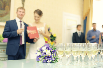 wedding photography concept of family happiness